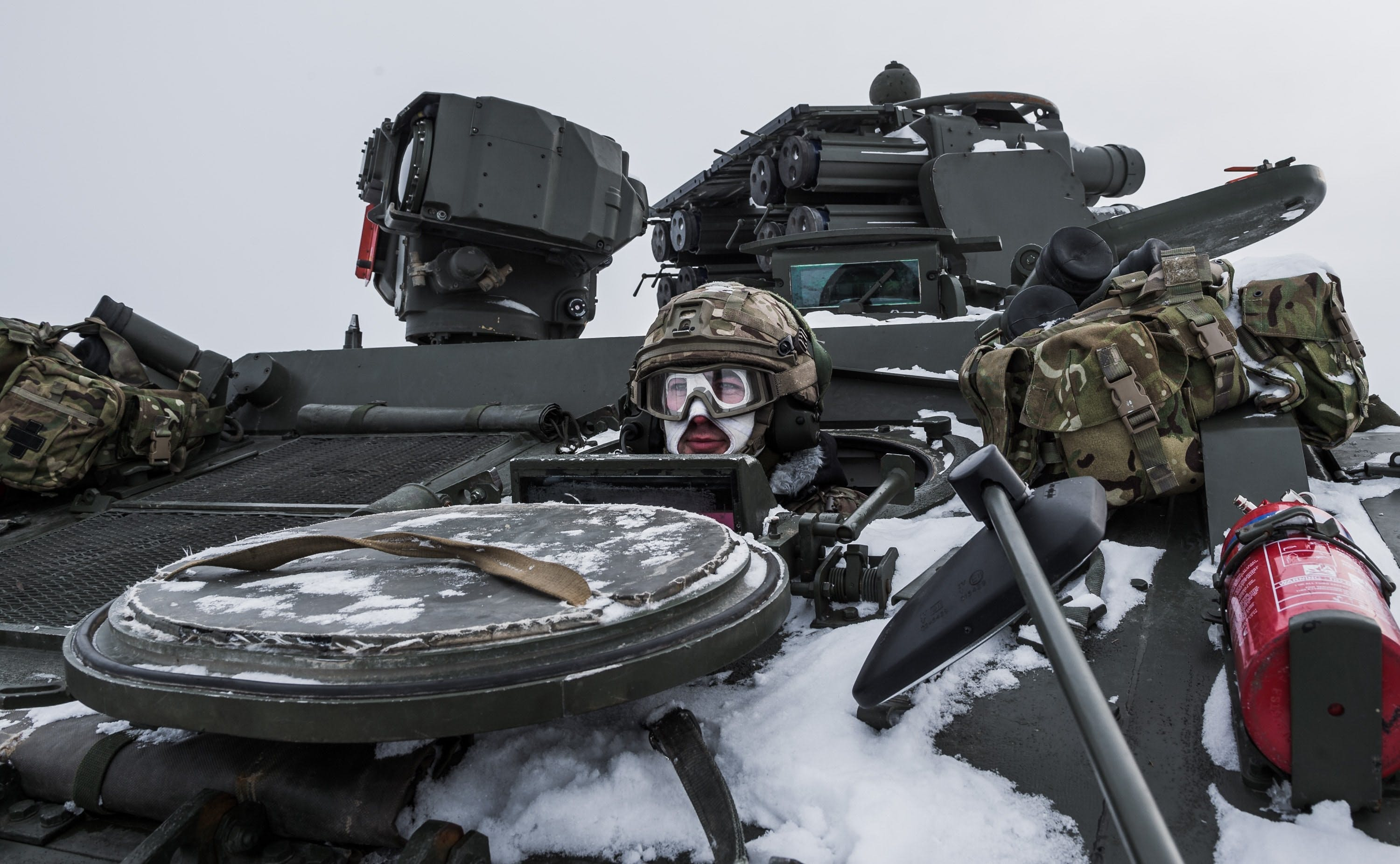 The British Army supporting NATO's Enhanced Forward Presence (eFP)