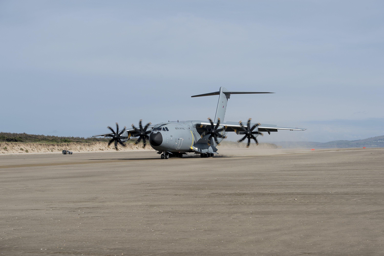 A400M Beach Landings