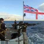 HMS Forth off to Gibraltar