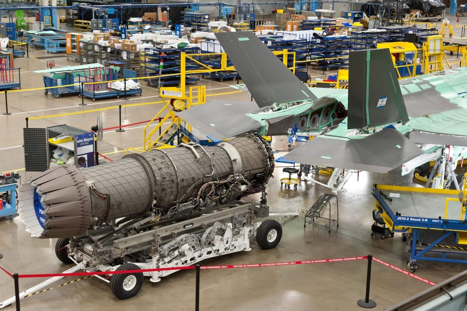 The US will upgrade the F-35 with the new engine.