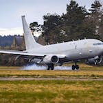 RAF Receives Second P-8A Poseidon
