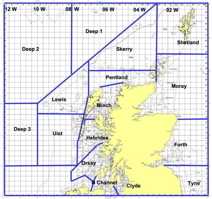 Joint Warrior will be taking place around Scotland in the areas above.