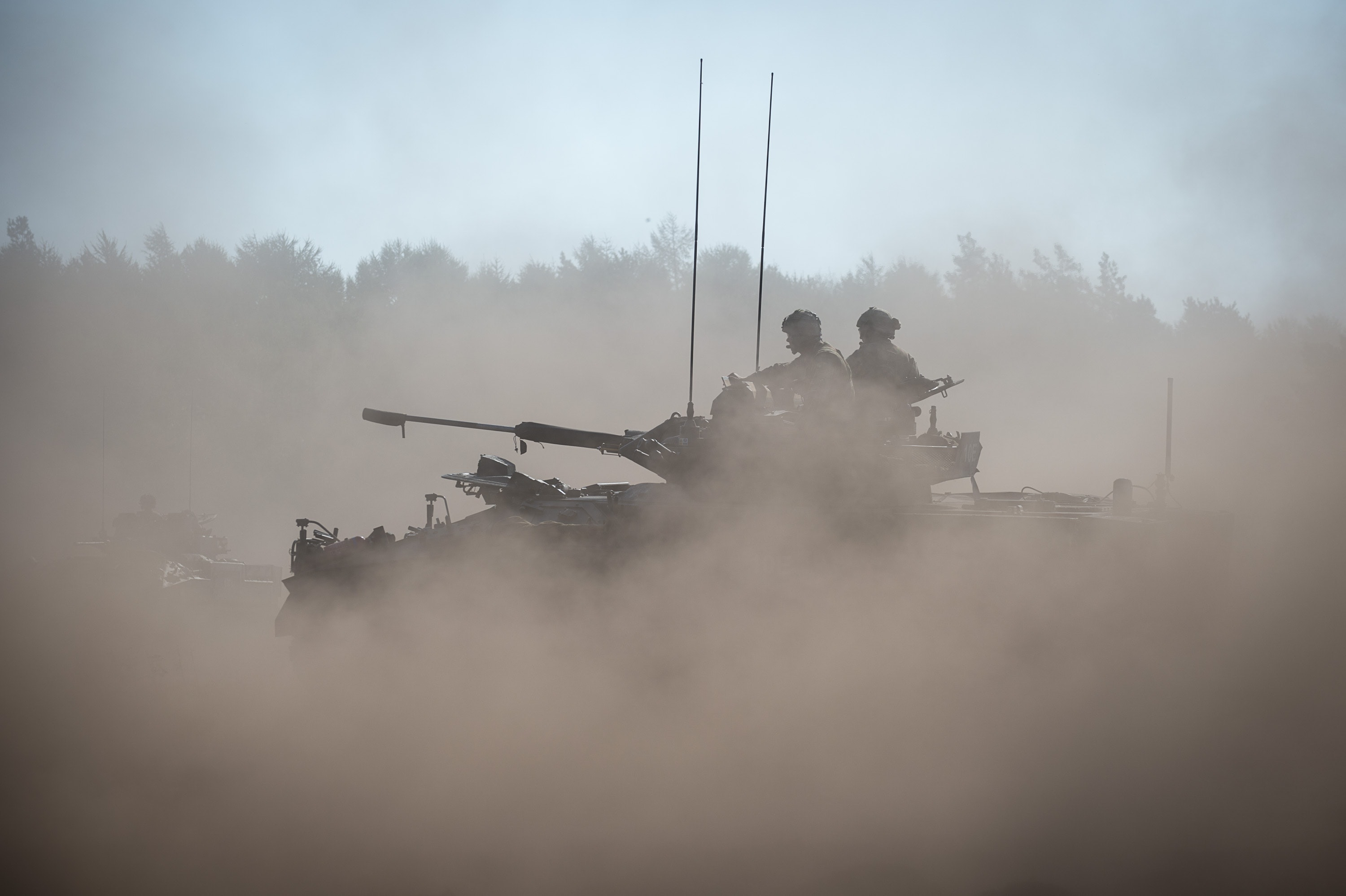 UK Troops lead on Exercise Venerable Gauntlet