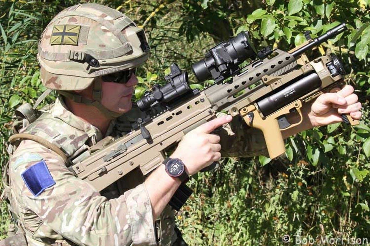 British Army combat rifle to be upgraded by Heckler and Koch