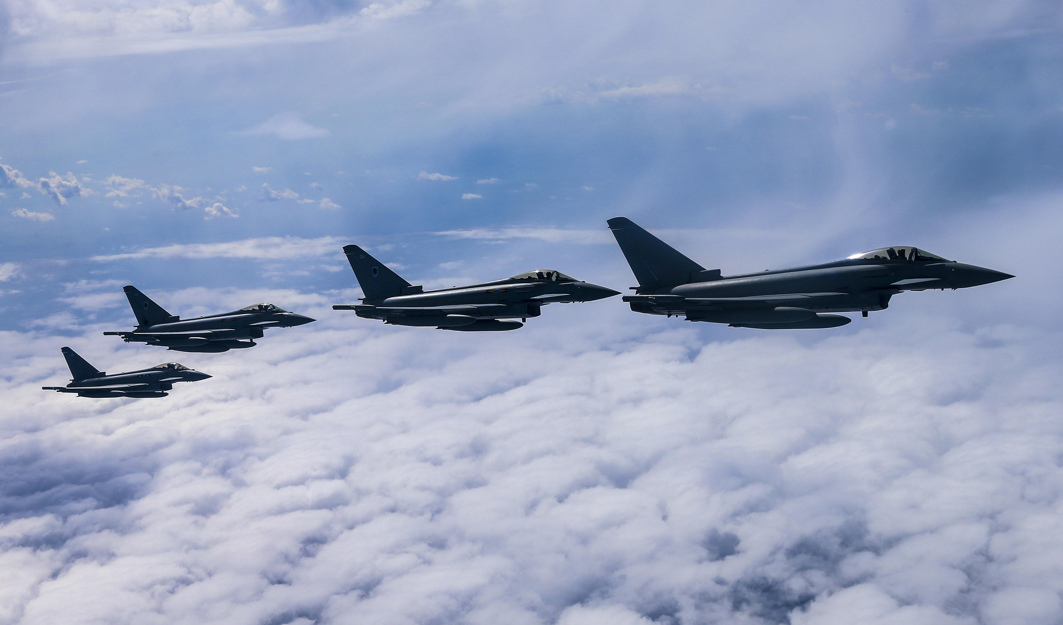 RAF Typhoons Land in Malaysia for EX Bersama Lima 16