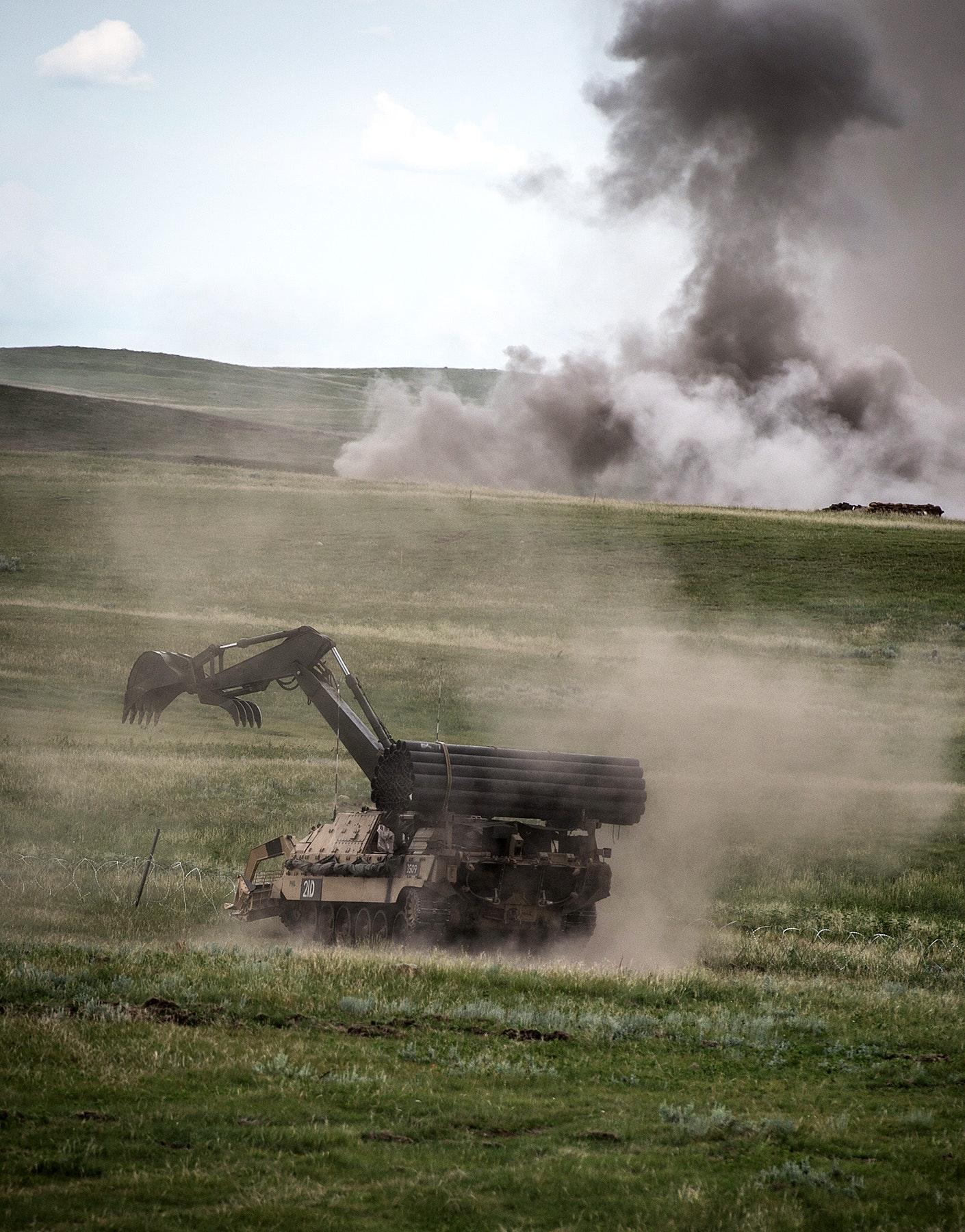 Exercise Prairie Storm 2 at BATUS Canada.
