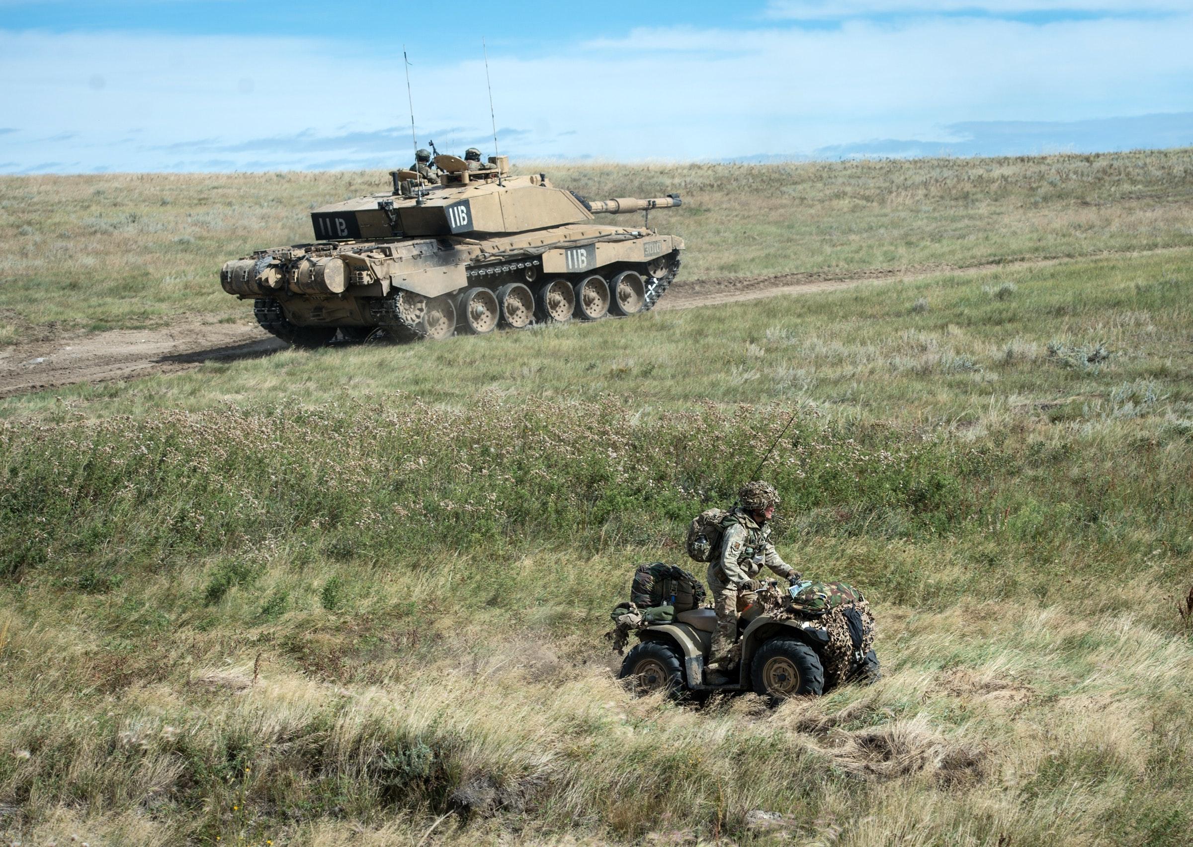 QRH Battlegroup on Ex Prairie Tempest at BATUS.