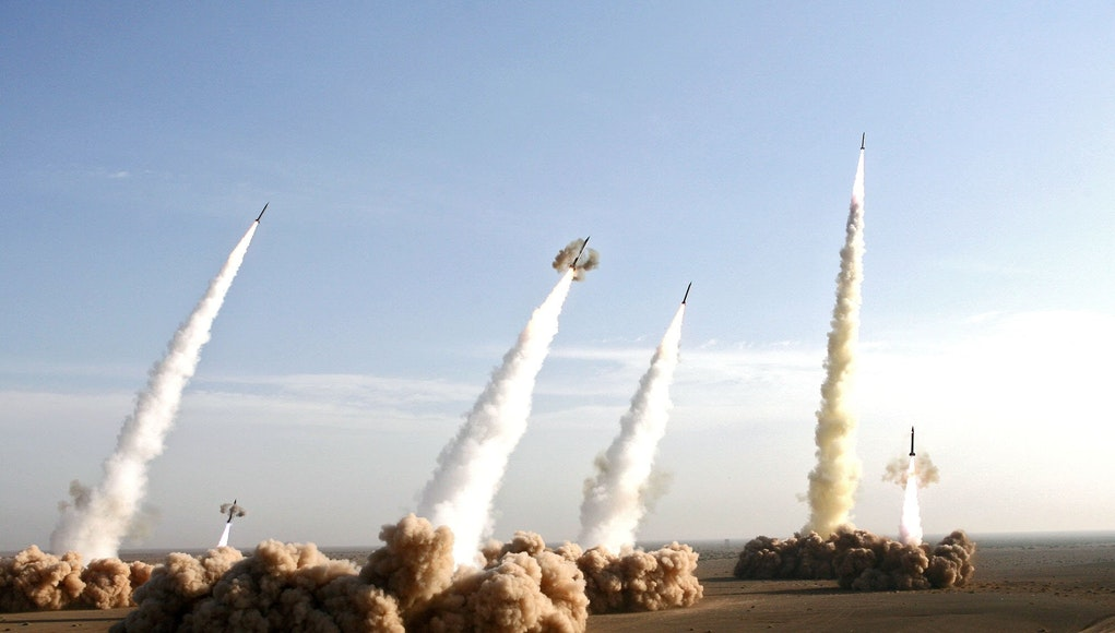 iran launches missile