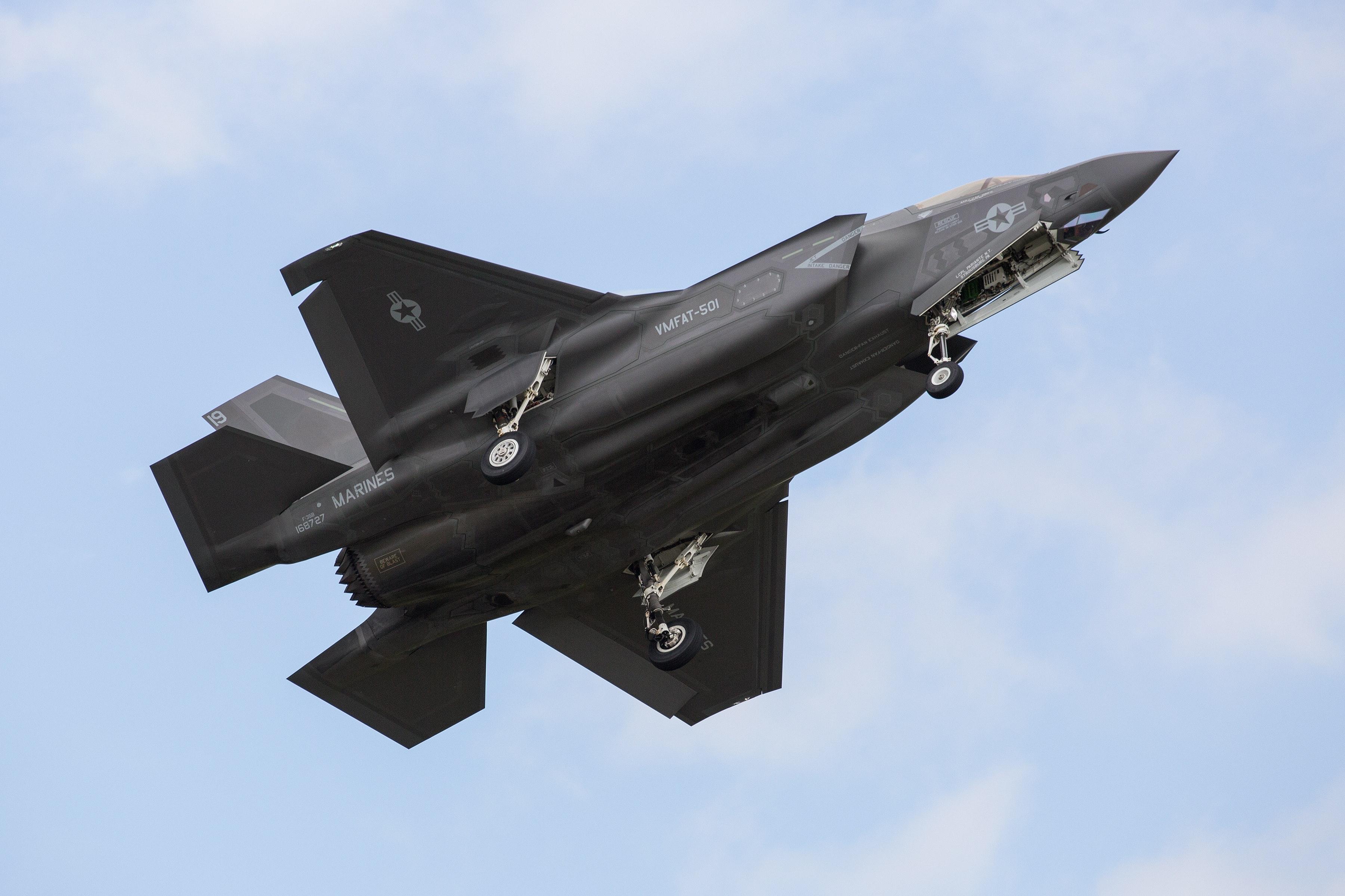 New F35B Lightning II in 1st Aerial Photoshoot
