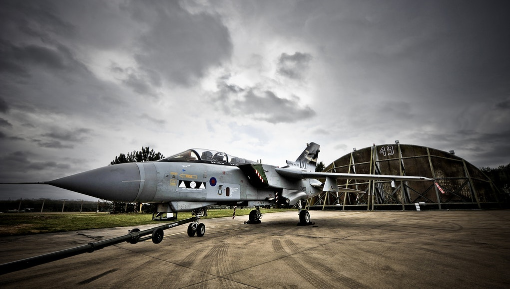 RAF Marham is home to the Tornado GR4 Force. Credit: MOD / Masson