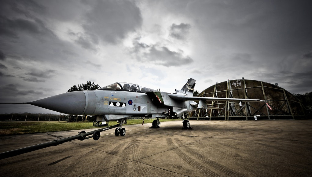 RAF Marham is home to the Tornado GR4 Force. Credit: MOD / Masson