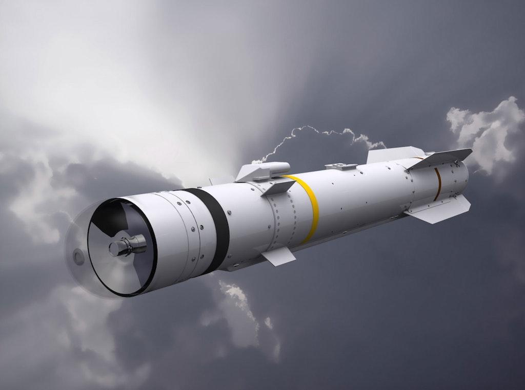 CGI of a Brimstone missile