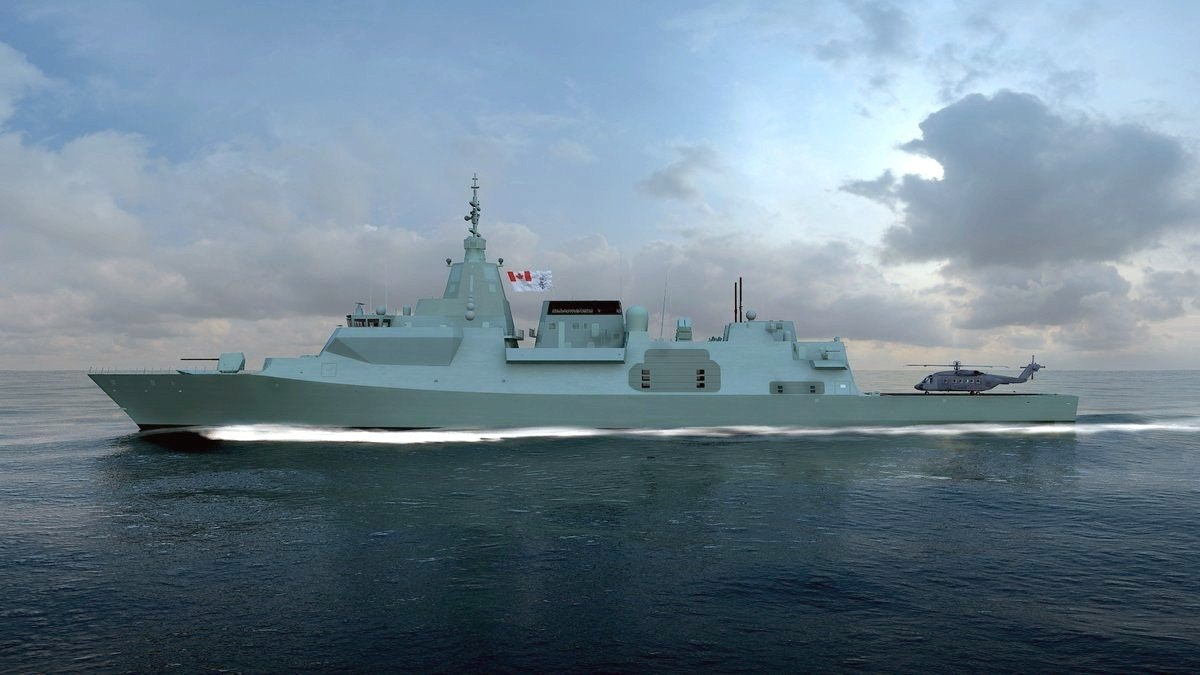 New Canadian Warship Design