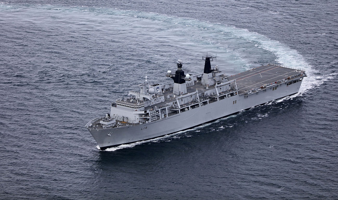 Royal Navy Assault Ship Hms Albion To Lead Nato Task Group