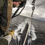 HMS KENT CONDUCTS WINCHEX