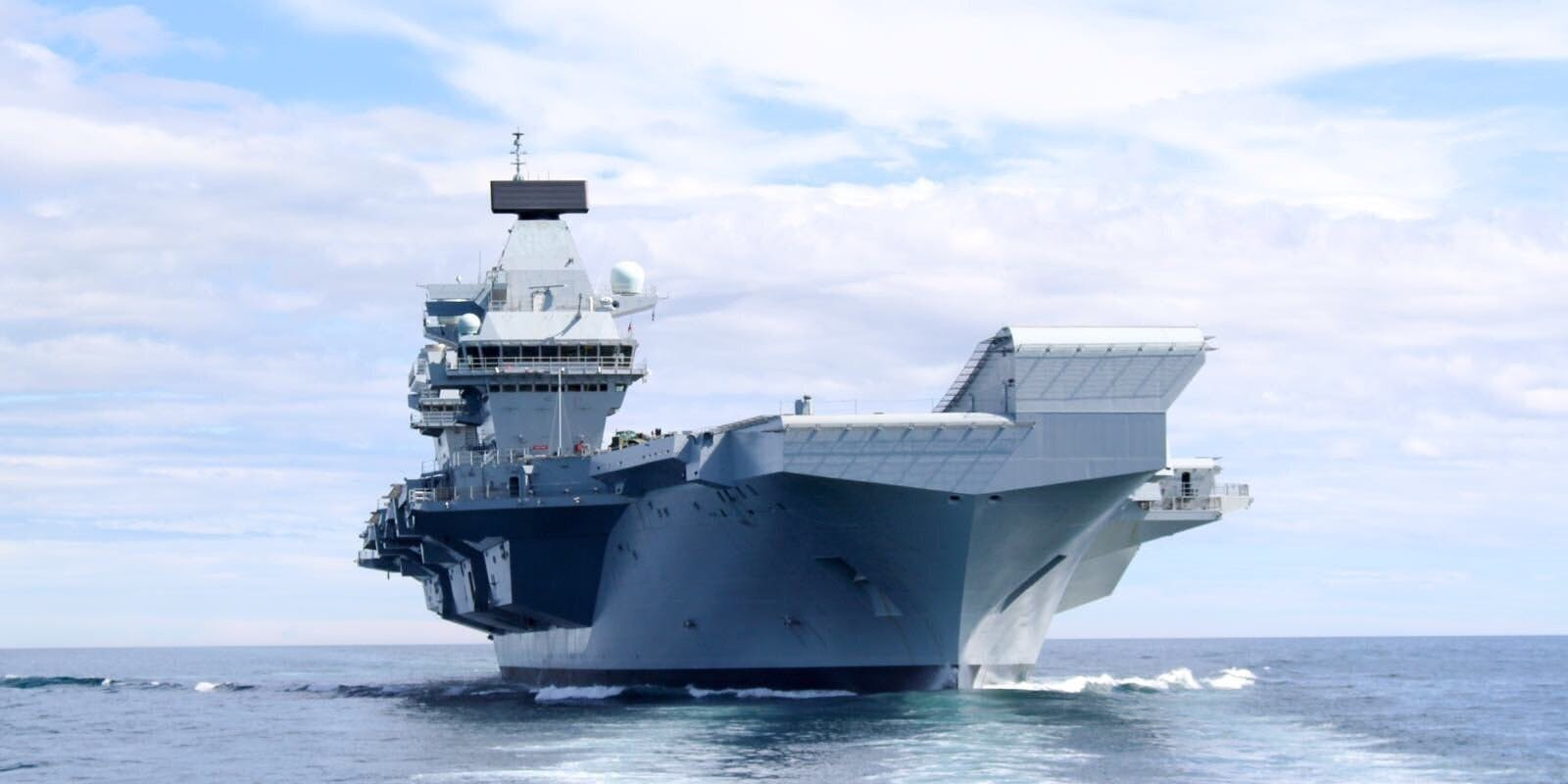 HMS Queen Elizabeth departure delayed until Monday