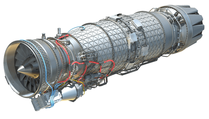 An EJ200 engine