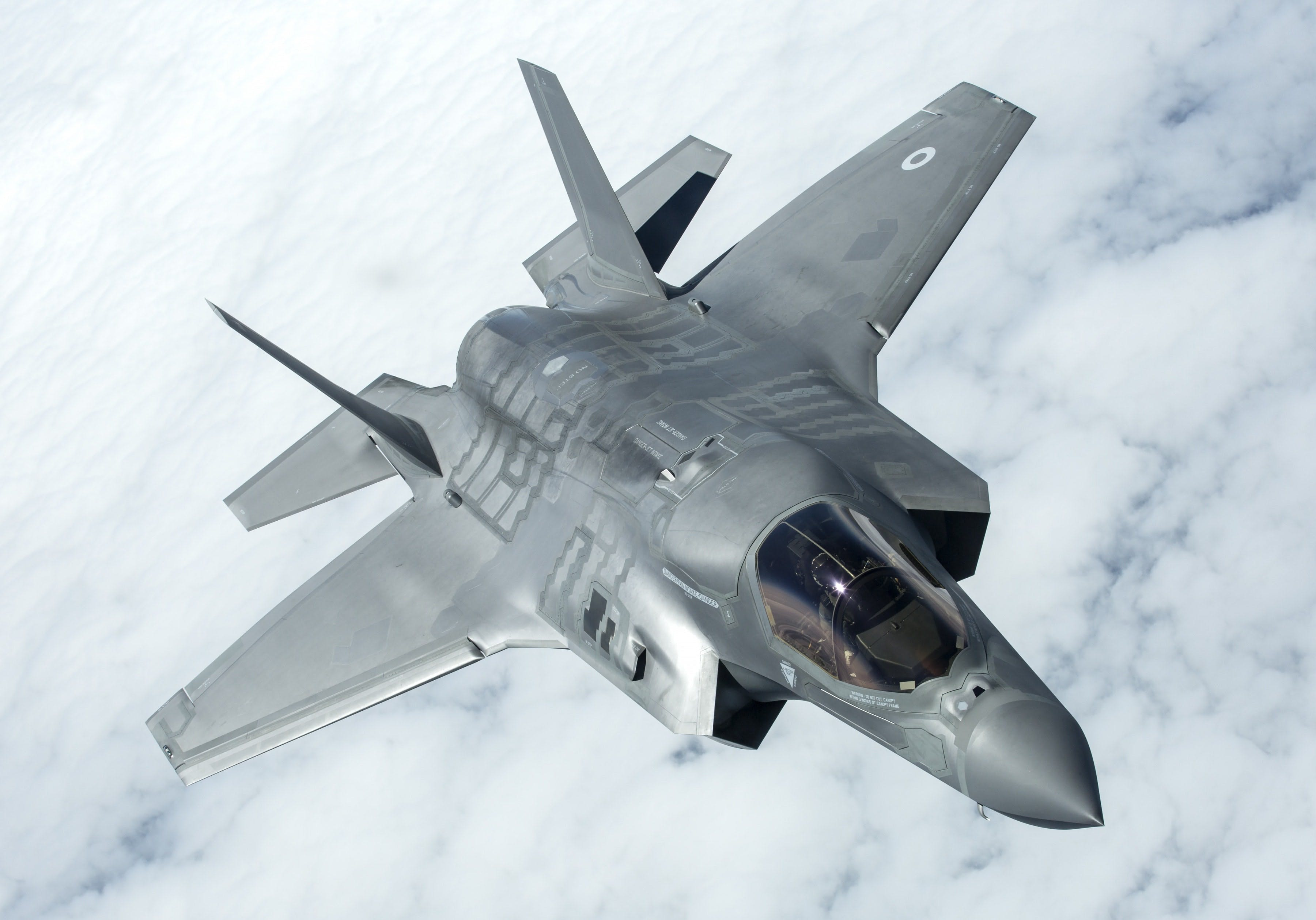 How much of the F-35 is British built?