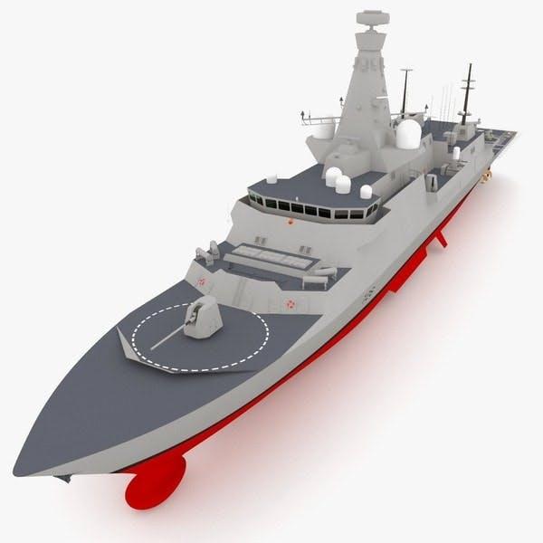 A Type 26 frigate
