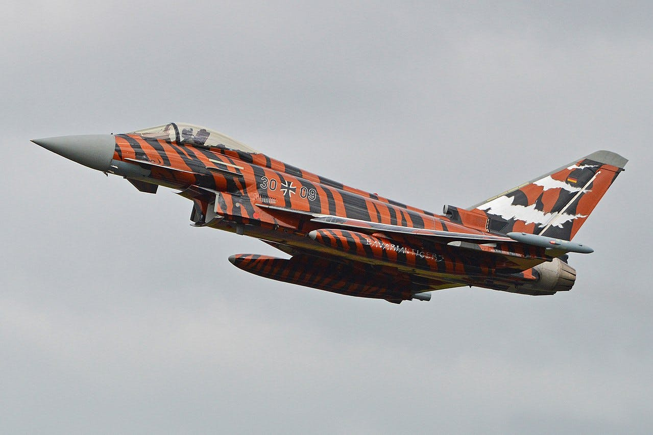 NATO Tiger Squadrons meet for training in France