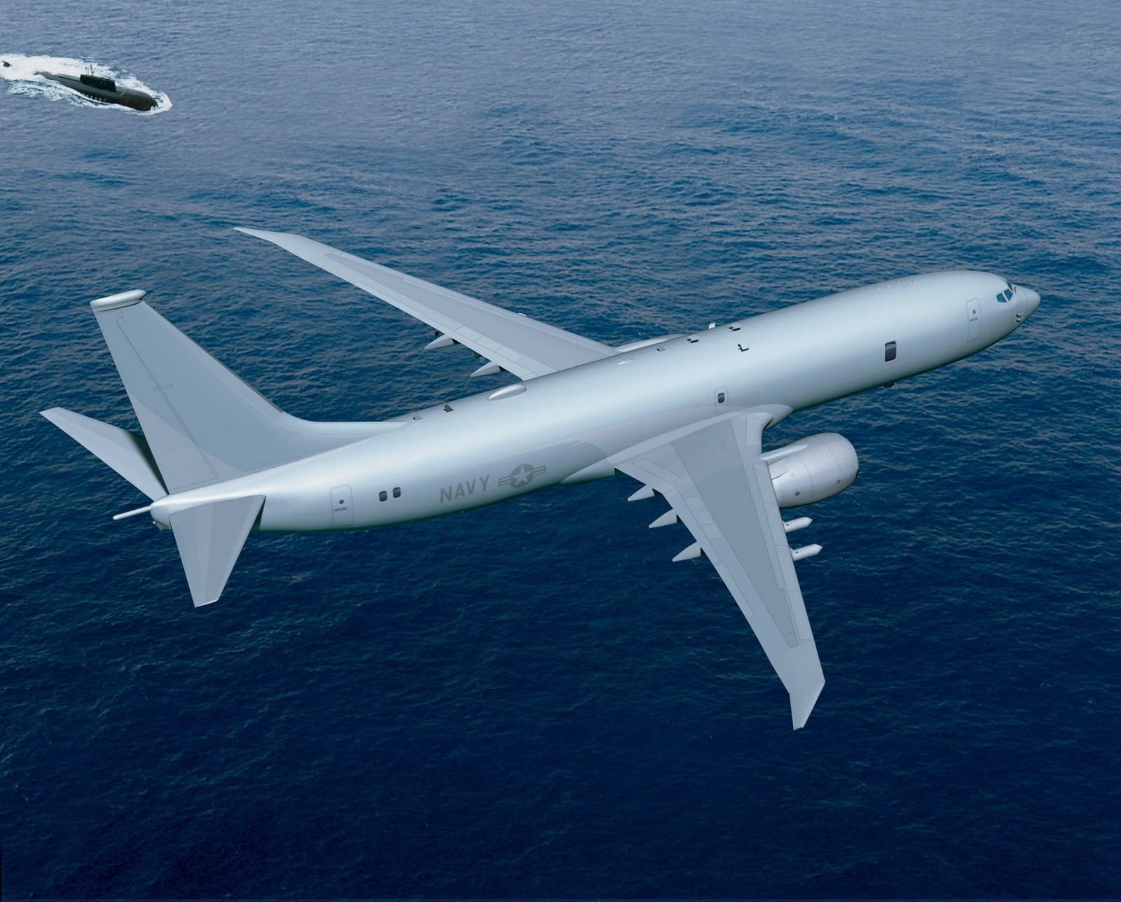 A potential option is the US P-8 Poseidon.