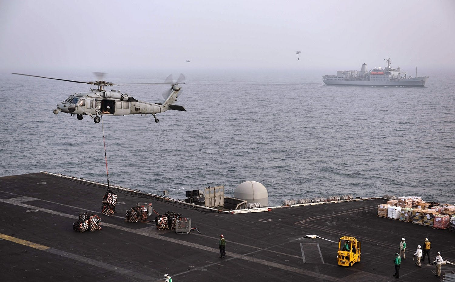 BAE Systems to enhance flight safety aboard large US Navy ships