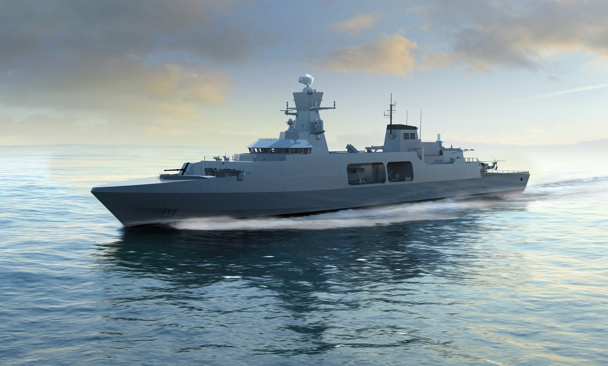 BAE showcase Type 31e design to international audiences at DIMDEX 2018