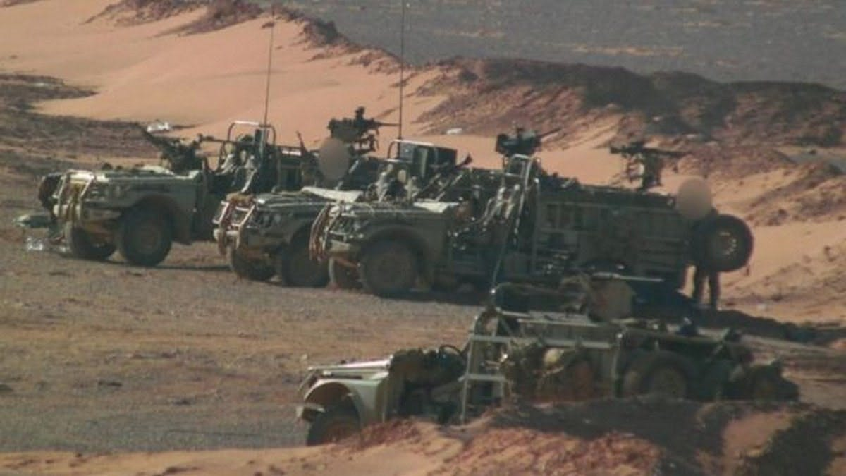 The BBC has obtained photos showing British special forces operating in Syria against IS. CREDIT: BBC