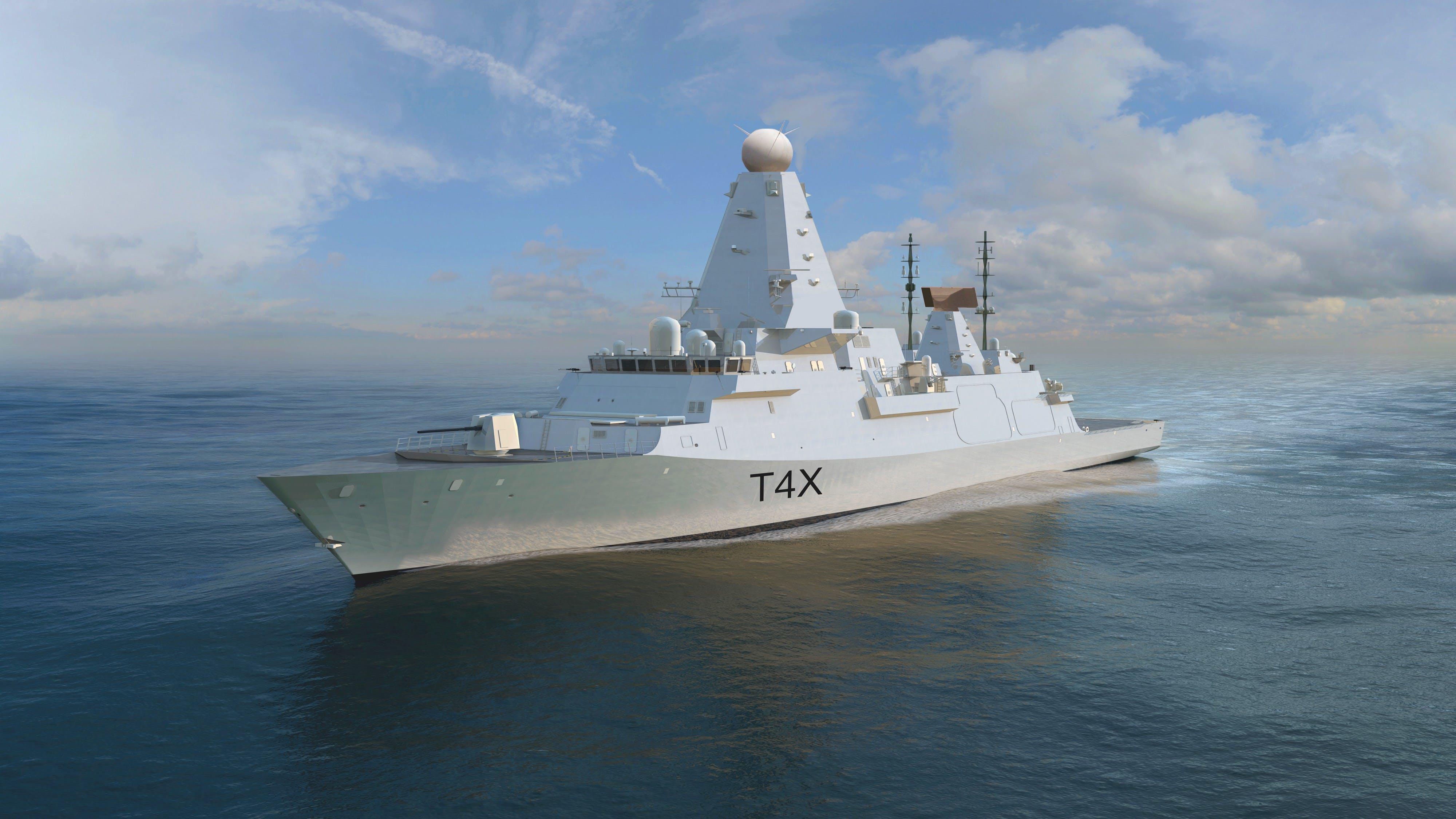 The Type 4x Destroyer The Next British Warship