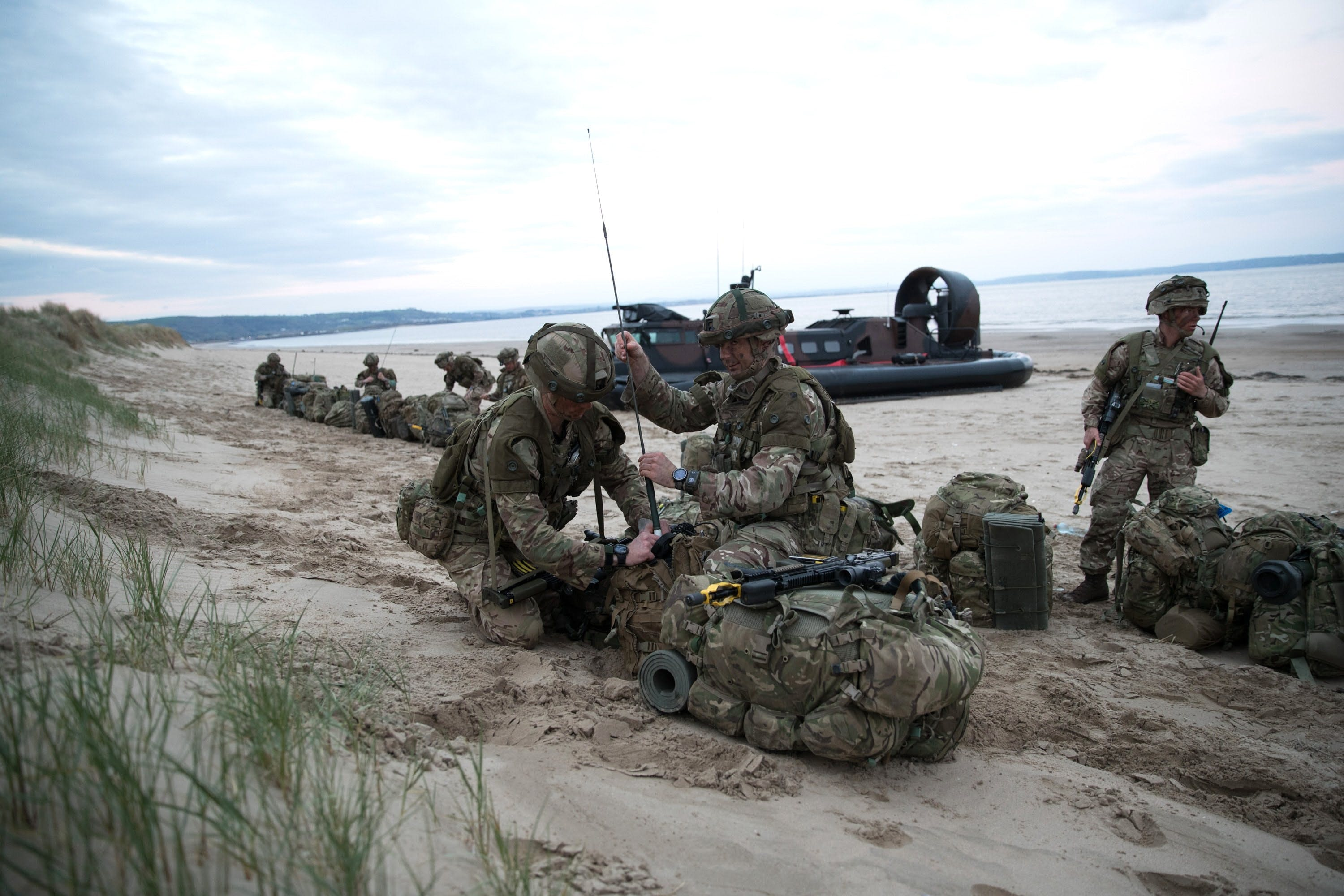 Exercise Joint Warrior 2018