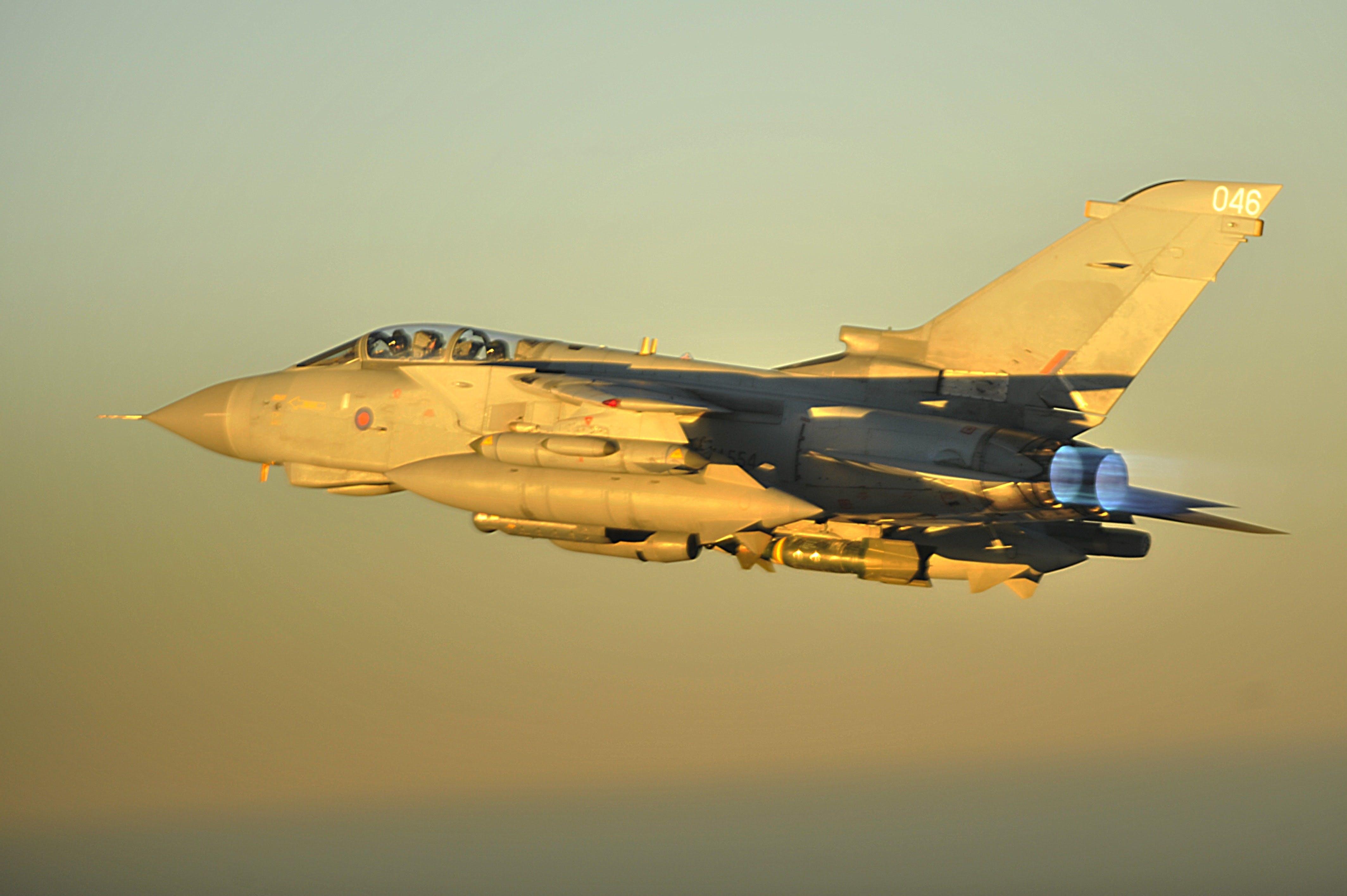 Tornado jets ready to deploy Leonardo BriteCloud decoy system