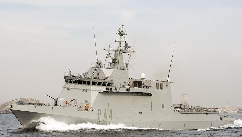 Spanish warship orders vessels to leave British Gibraltar waters