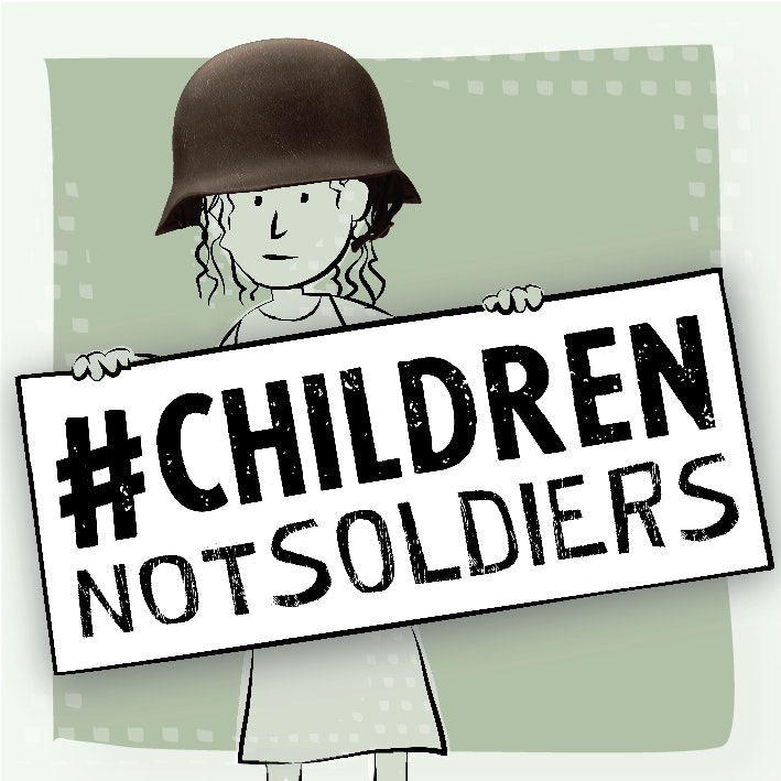 #ChildrenNotSoldiers