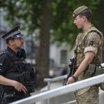 Personnel from all three of the Armed Forces are readying themselves to provide support to police under OpTemperer