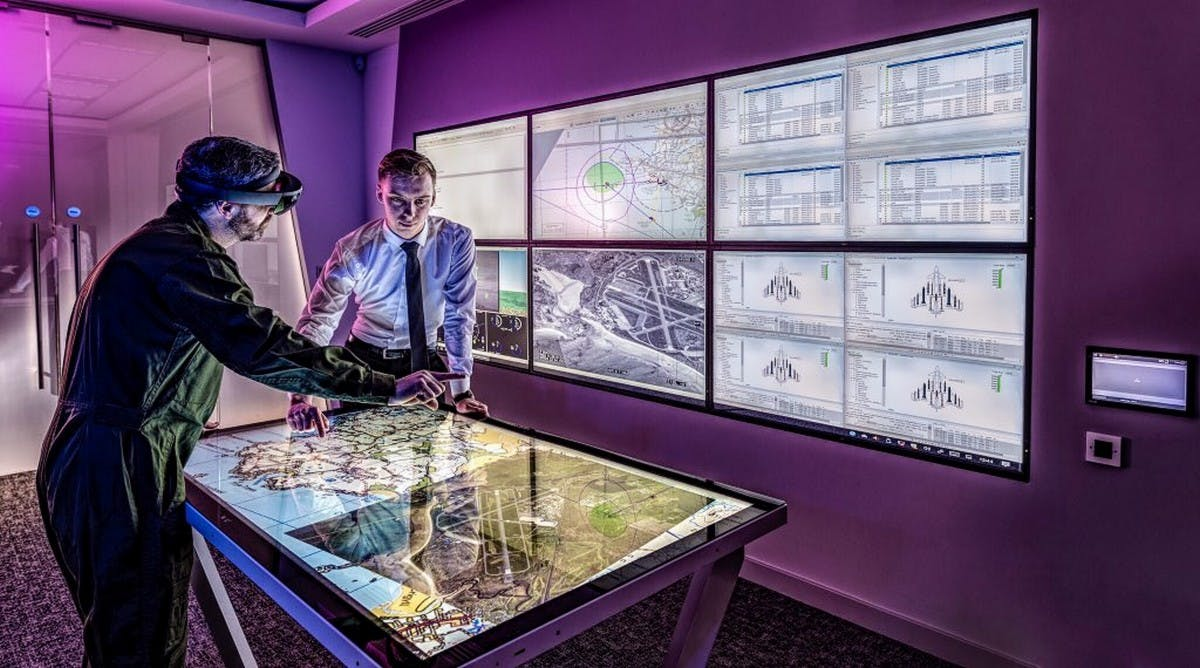 BAE unveil new 'Sceptre' mission planning software for the RAF
