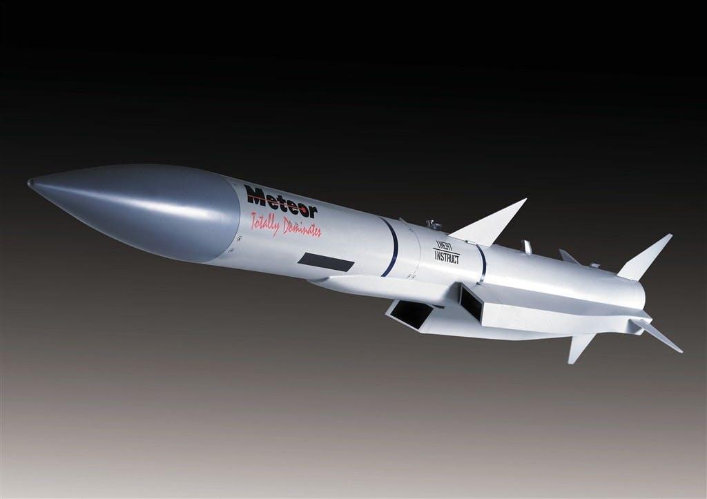 Meteor Beyond-Visual Range Air-to-Air Missile