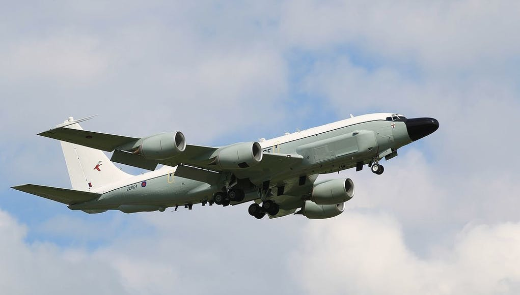 A Guide To The UK S RC 135 Rivet Joint Surveillance Aircraft