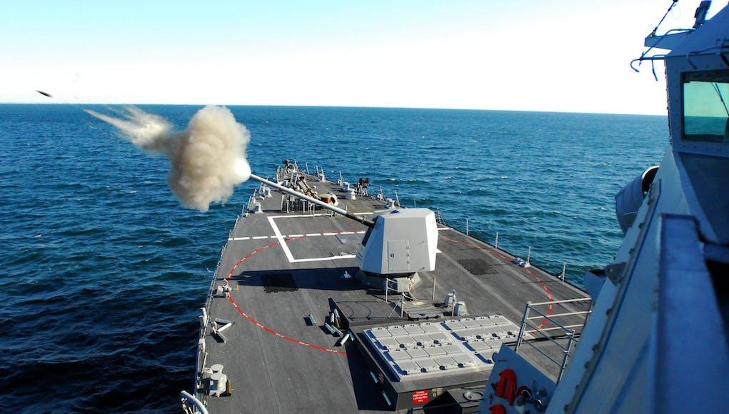 US Navy awards BAE $70m Mk 45 gun upgrade contract