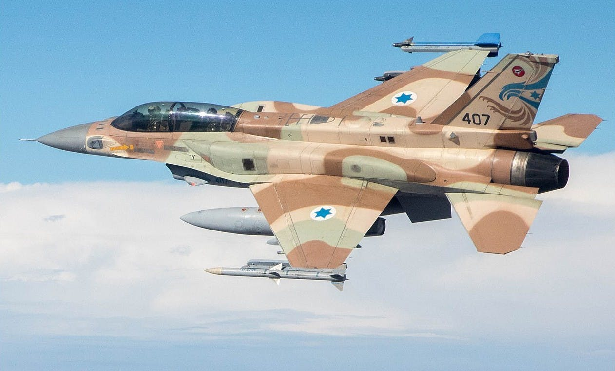 Israeli fighter jets to take part in exercise over British skies