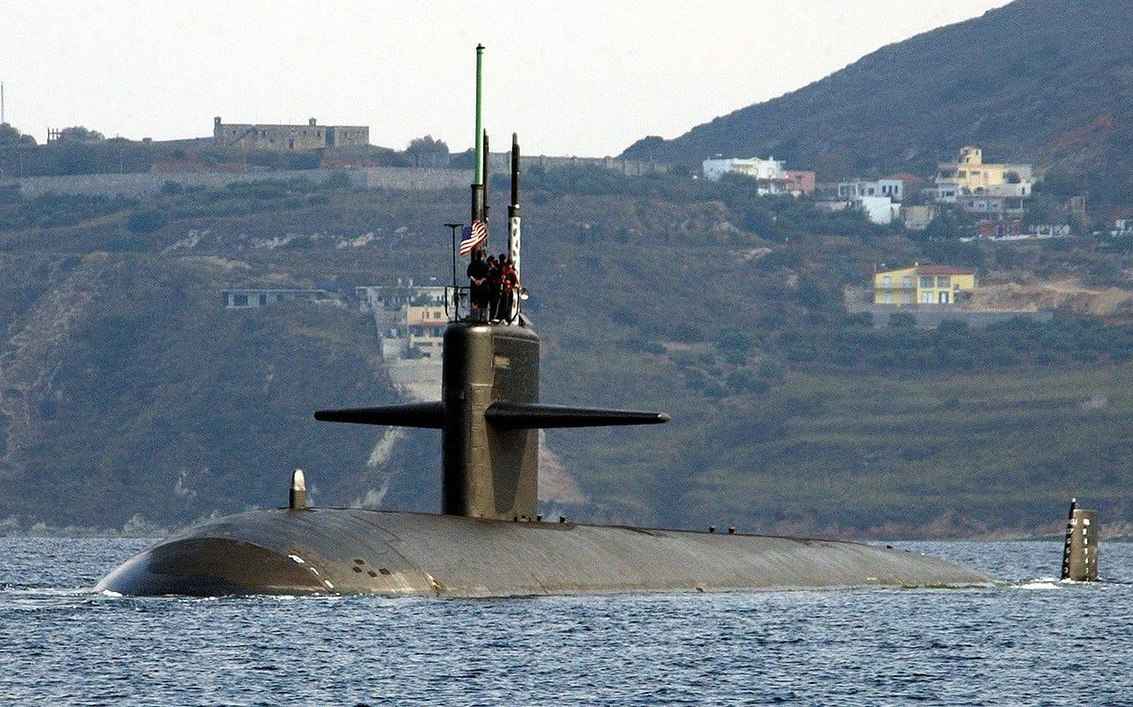 American nuclear submarine harassed by Spanish during