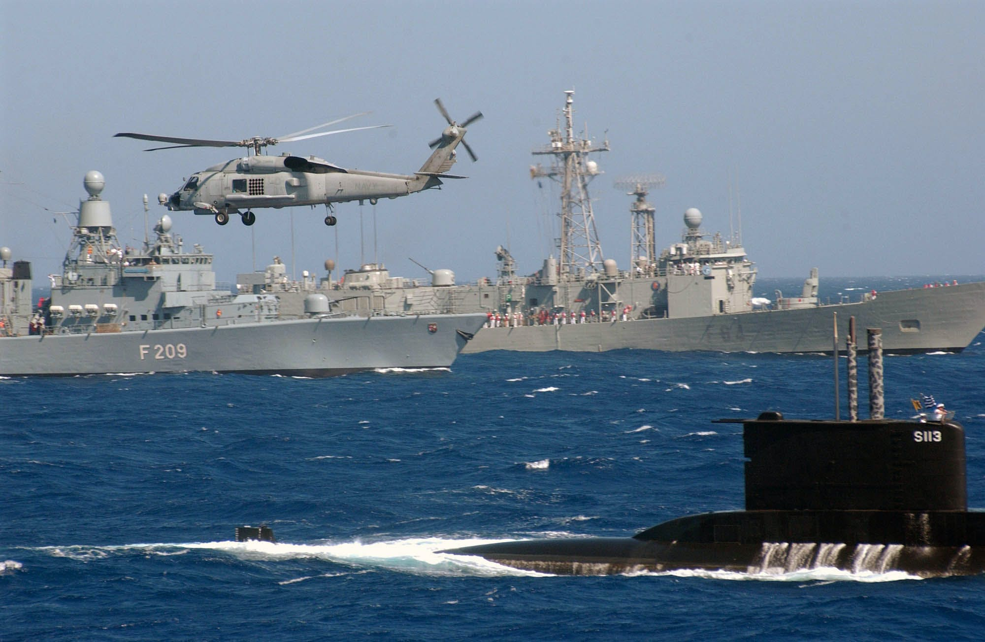 NATO ships conduct advanced training in Eastern Mediterranean