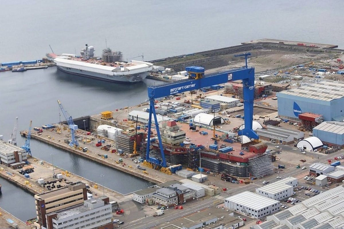 The future of British shipbuilding, marching towards a