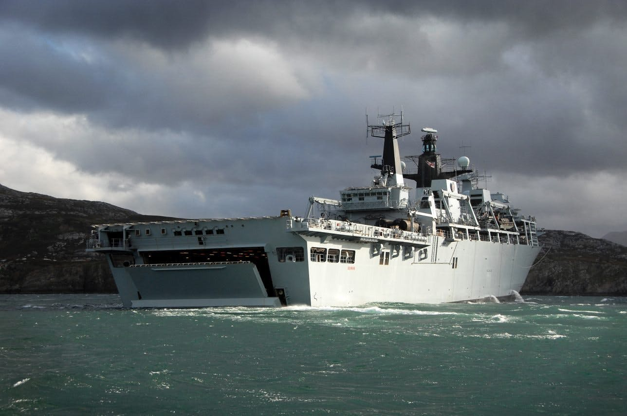 A guide to British amphibious and sea-lift vessels