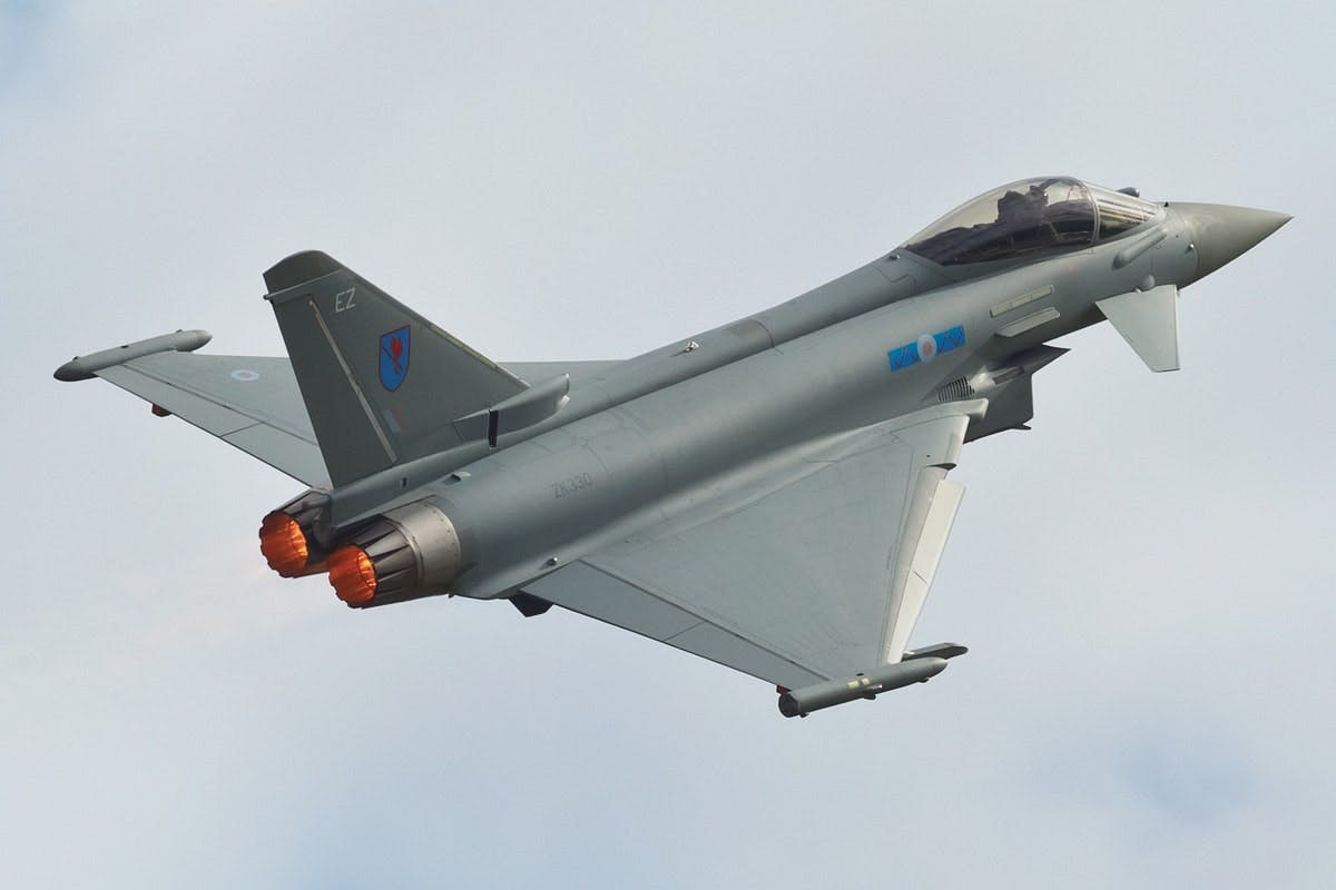 One of the world's premier fighter aircraft - The Typhoon