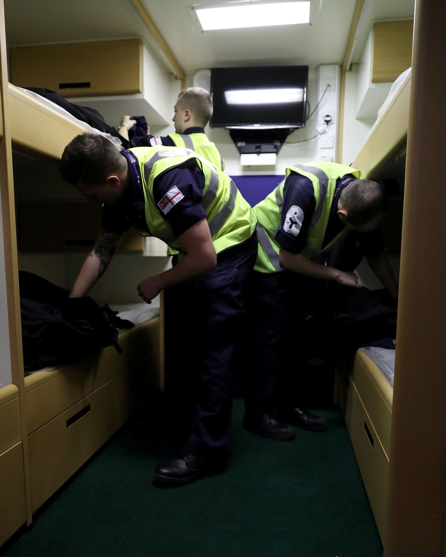 Ships Staff Move On Board (SSMOB)
