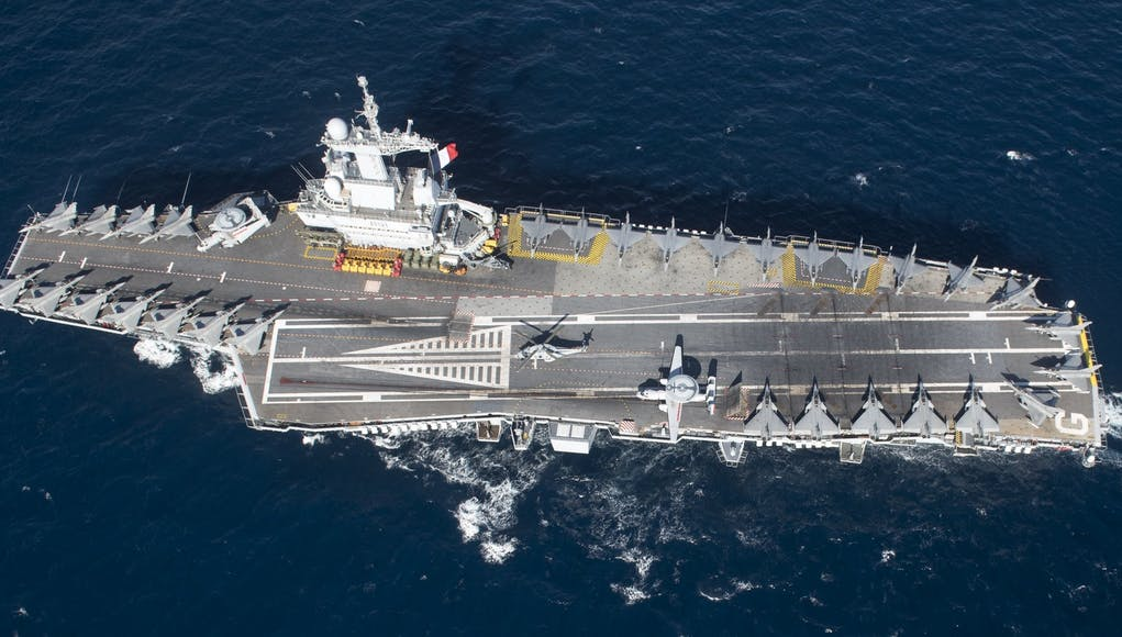 French aircraft carrier returns home after outbreak of Covid-19 cases
