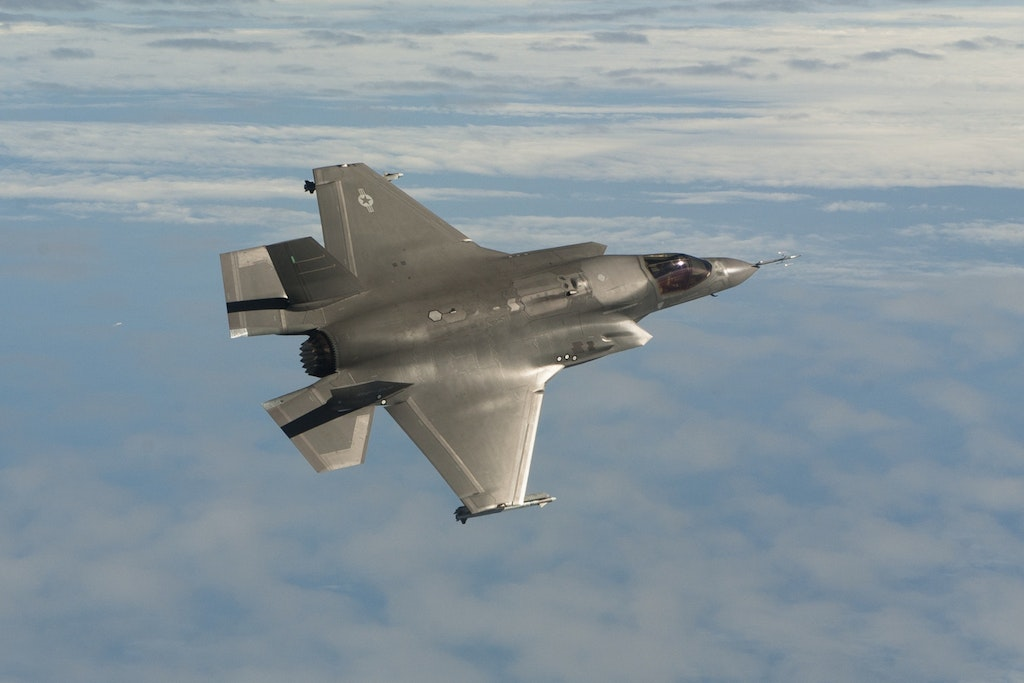 F-35B with AIM-9X Sidewinders.