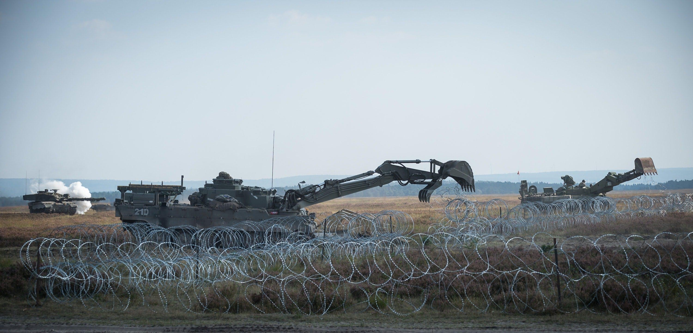 UK Troops lead on Exercise Venerable Gauntlet