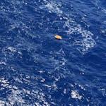 MS804 Debris Floating in Mediterranean